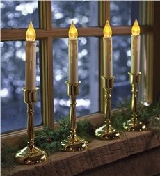 Set of 4 Bayside Candles With Remote