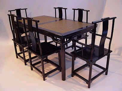 Modern Tang dining chairs (D)