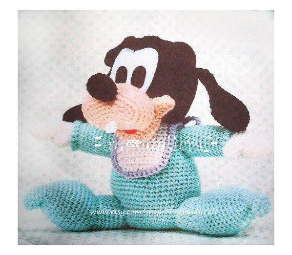 Disney Cindy Toddler Doll H15: Disney Goofy Baby Amigurumi Pattern Ebook In PDF By
