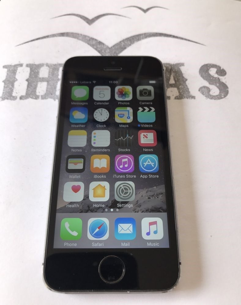 Apple iphone 5s 16gb space grey unlocked smartphone
