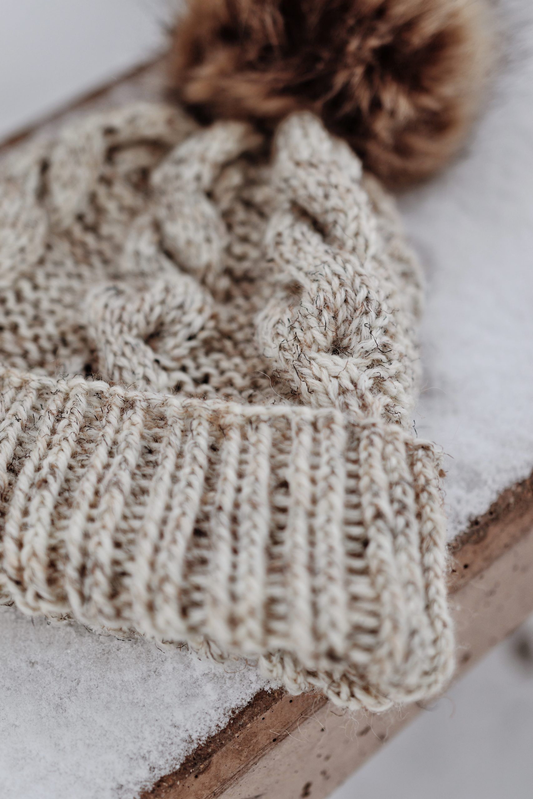 The Timber Beanie Knitting Pattern (Instant Download) in ...