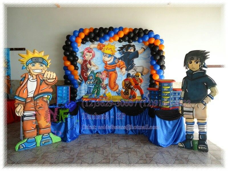 Best Naruto Party Images On Pinterest Naruto Birthday - Childrens birthday party ideas taunton