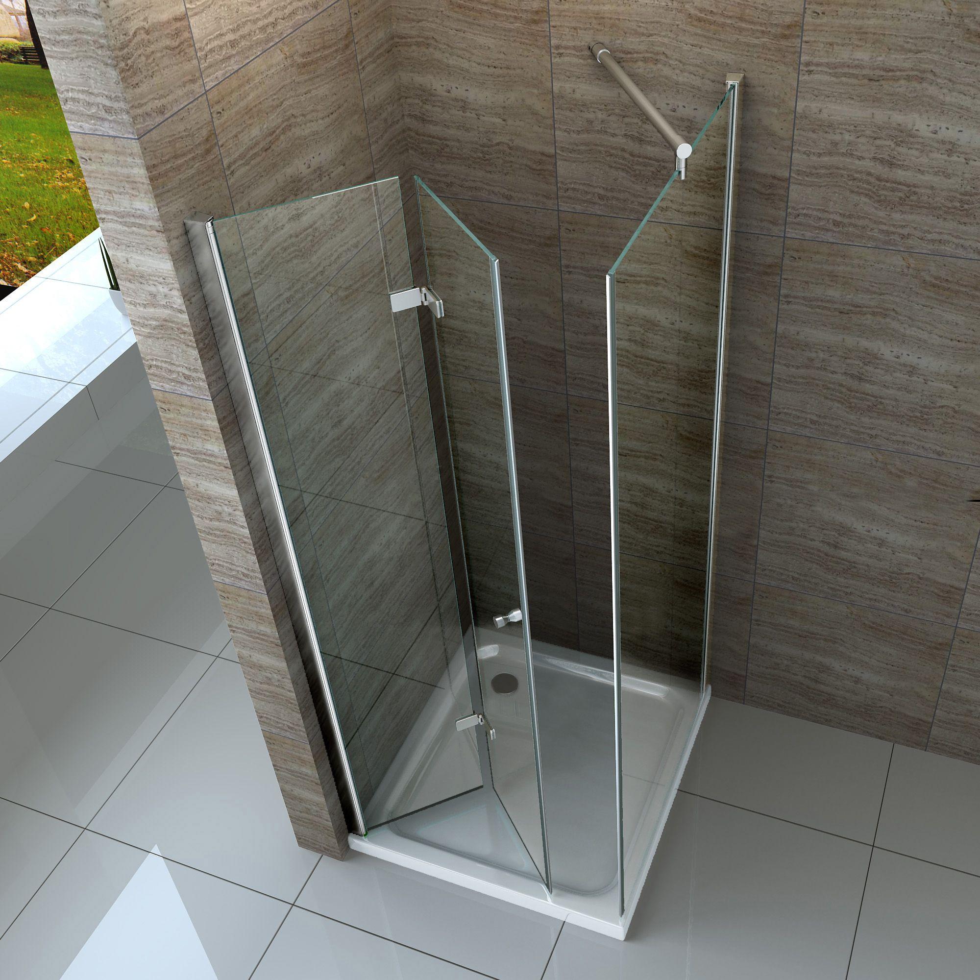 Rahmenlose Duschen. Excellent Auf Anfrage Auch Mit Schrgen