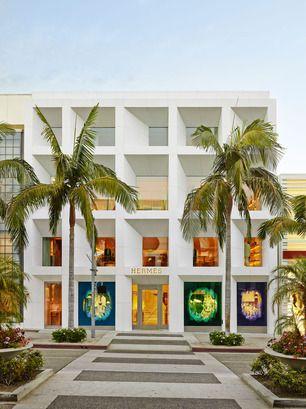 Hermès Beverly Hills Beverly hills and Brand identity - peinture de facade maison