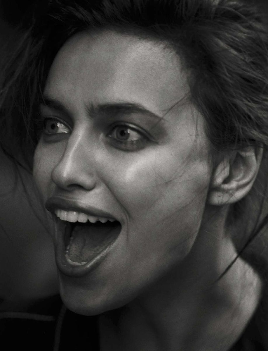 "Irina Shayk in ""Walking"" by Peter Lindbergh for Vogue Italia October 2016"
