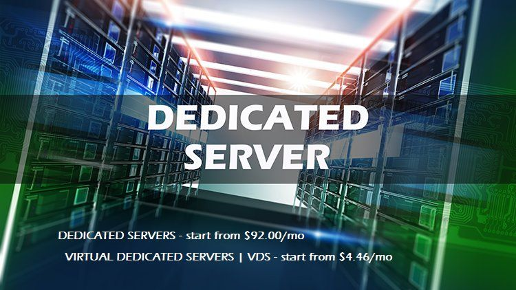 Need a powerful hosting service? Our dedicated server