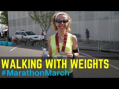 walking with weights marathonmarch  cardio endurance and