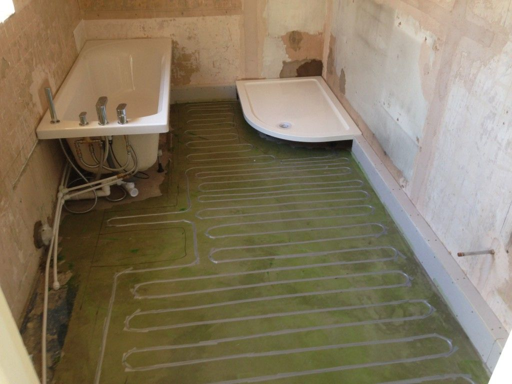Radiant Bathroom Floor Heating Ideas