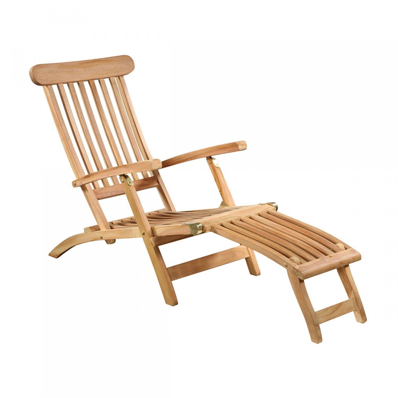 Solid Premium Teak Steamer Chair Teak Holz Teakholz Teak