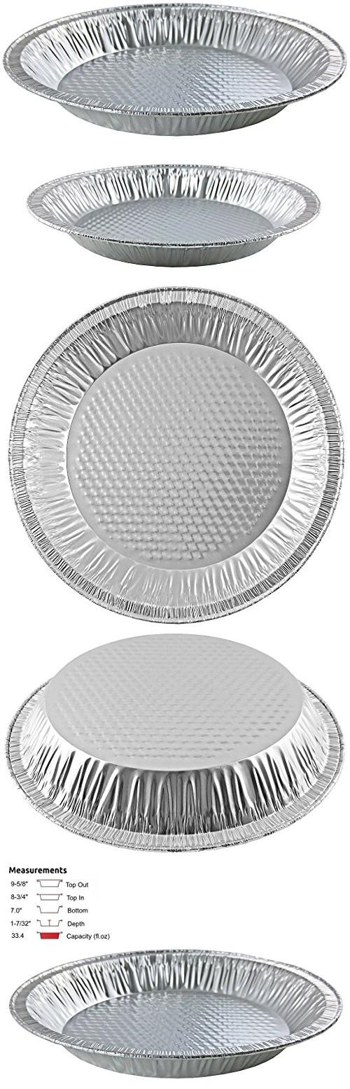 Handi-Foil 10  Aluminum Pie Pan 1-7/32  Deep - Disposable Baking Tin Plates #305 (pack of 12)  sc 1 st  Pinterest & Handi-Foil 10