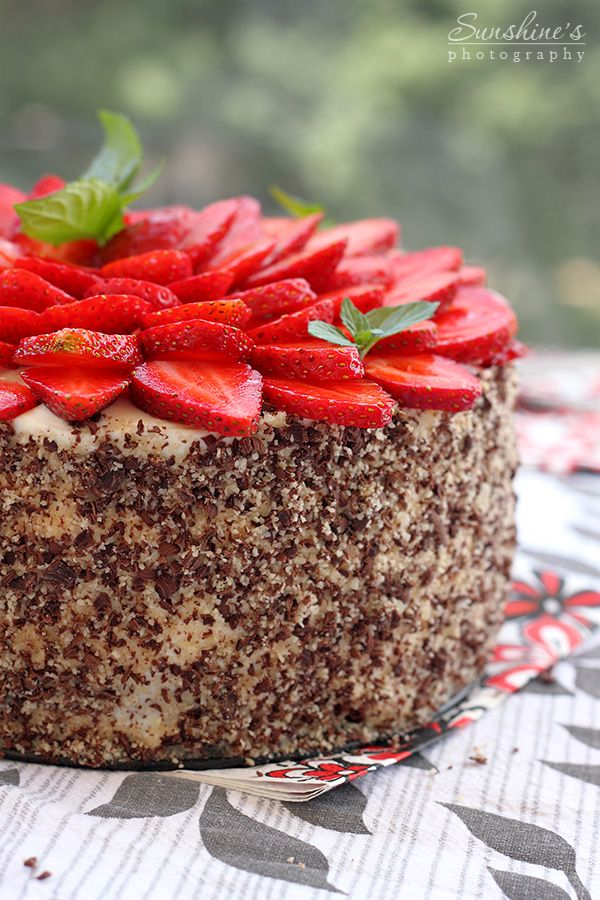 Shokoladova Torta S Yagodi I Maskarpone Sunshine S Kitchen Cake Chocolate Strawberry Cake Chocolate Strawberry