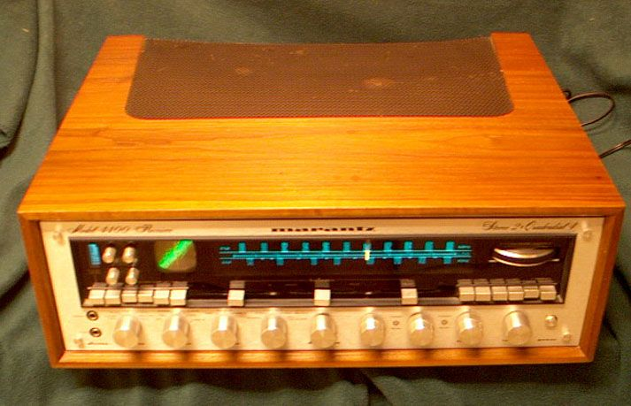 Amp On An Oscilloscope : Marantz model tuner amp with scope watts