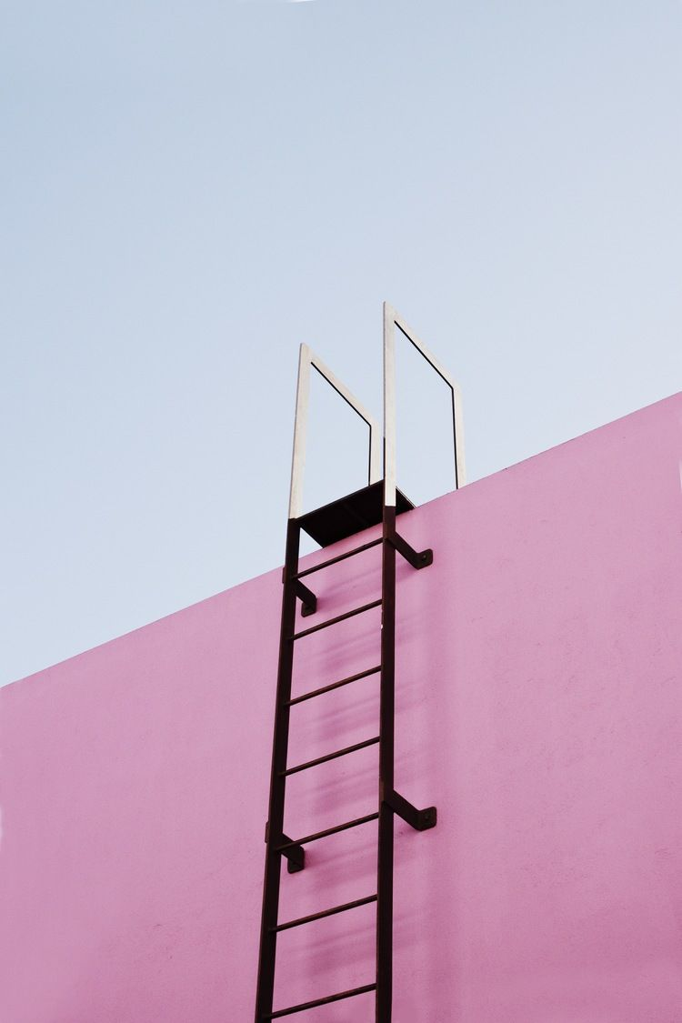 Geometric & Pinkish Los Angeles