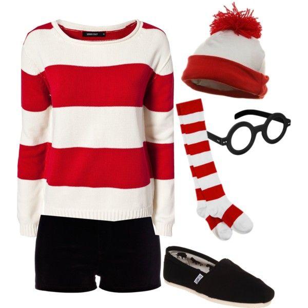 Halloween Costume Where\u0027s Waldo\ - halloween diy ideas