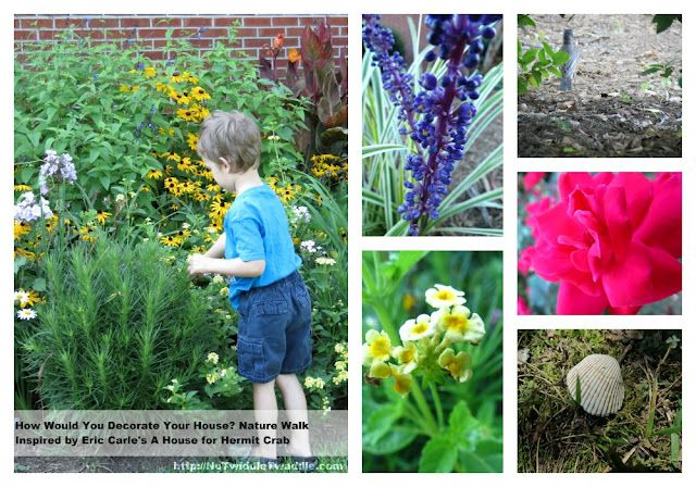 Eric Carle inspired Nature Walk and link-up of over 70 other Eric Carle activities