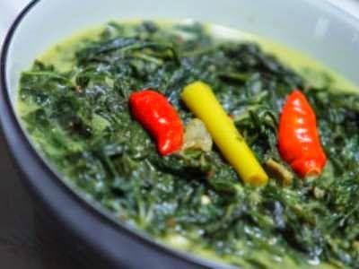 Resep Sayur Daun Singkong Padang Resep Sayuran Masakan