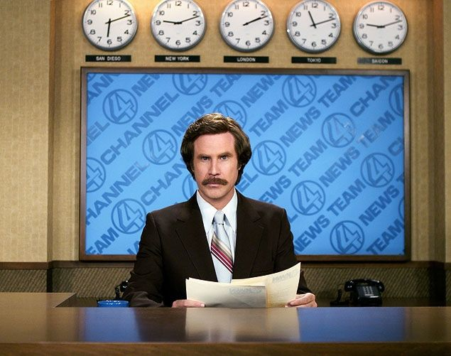 BREAKING: 'Anchorman' sequel: Will Ferrell tells 'Conan' he will reprise his role of newsman Ron Burgundy