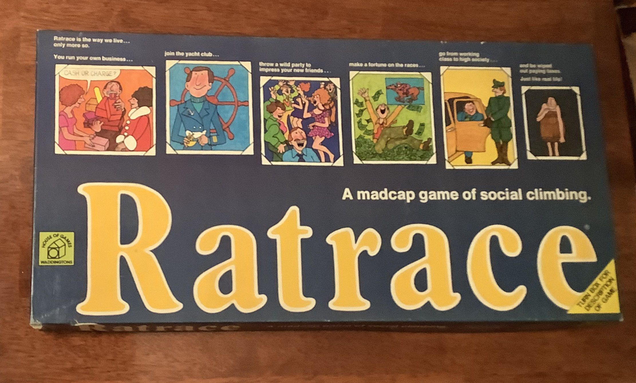 Vintage 1974 Ratrace Board Game (With images) Board