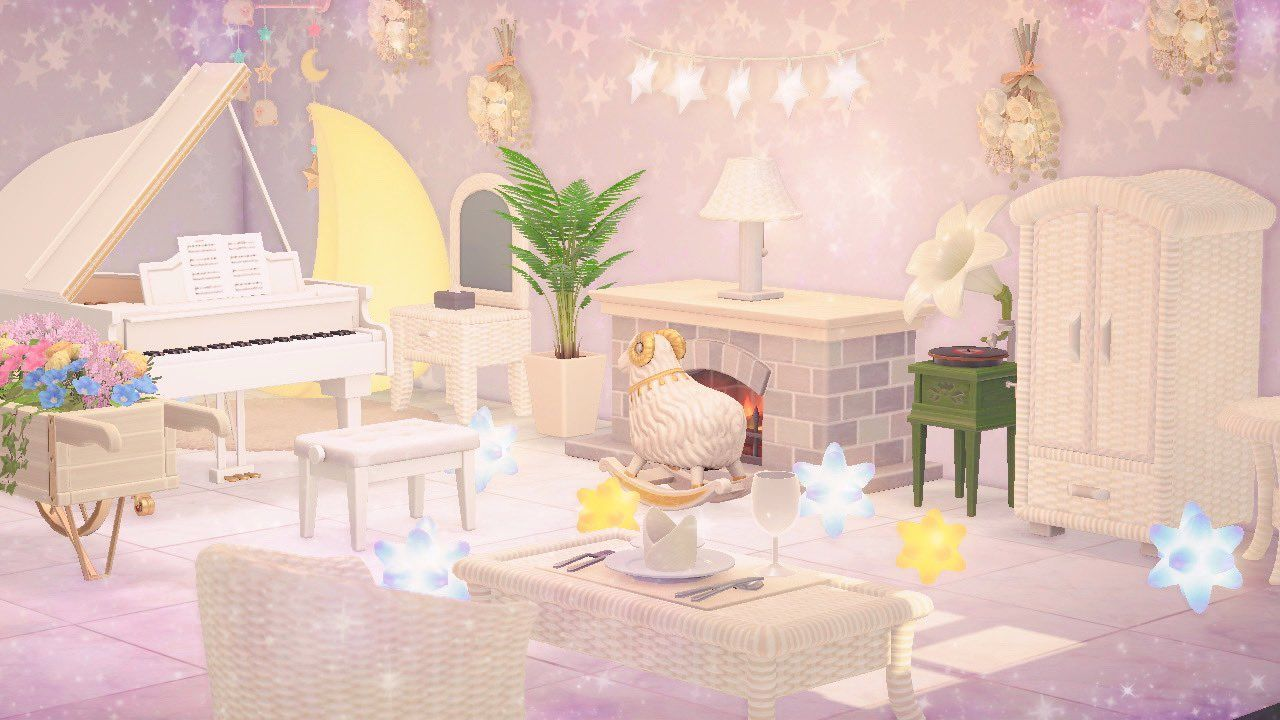 ☁️ ℴ𝓅𝓊𝓃𝒾 🧸⸝꙳ on Twitter in 2020 | Animal crossing, Bilder ... on Animal Crossing Bedroom Ideas New Horizons  id=58433