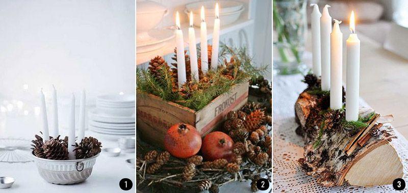 Ideas para tus centros de mesa navideños Conkansei