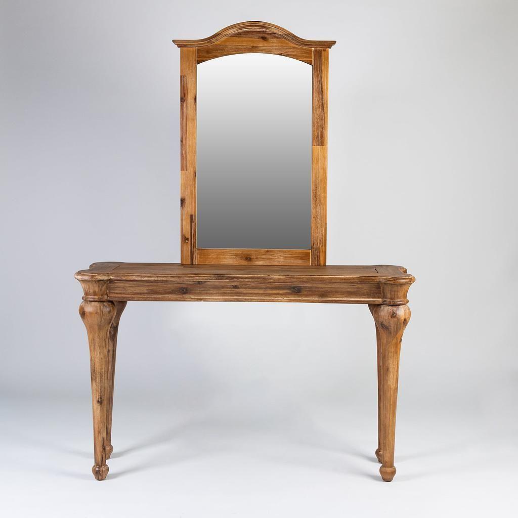 طاولة مدخل مع مرايا Perfect لون خشبي Home Decor Decor Home