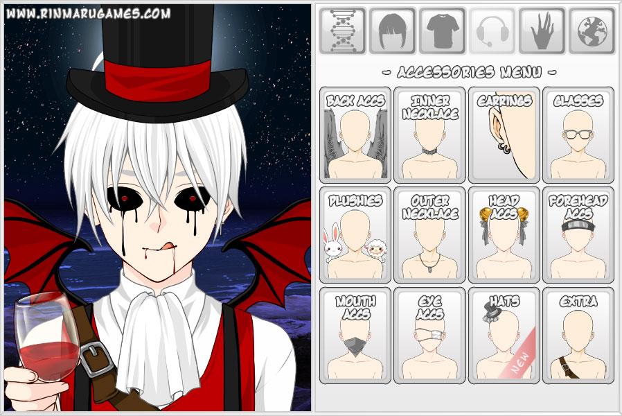 Mega Anime Avatar Creator Zrzut ekranu 2