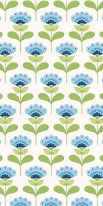 Tilda fabric, Molly blue.   # Pin++ for Pinterest #