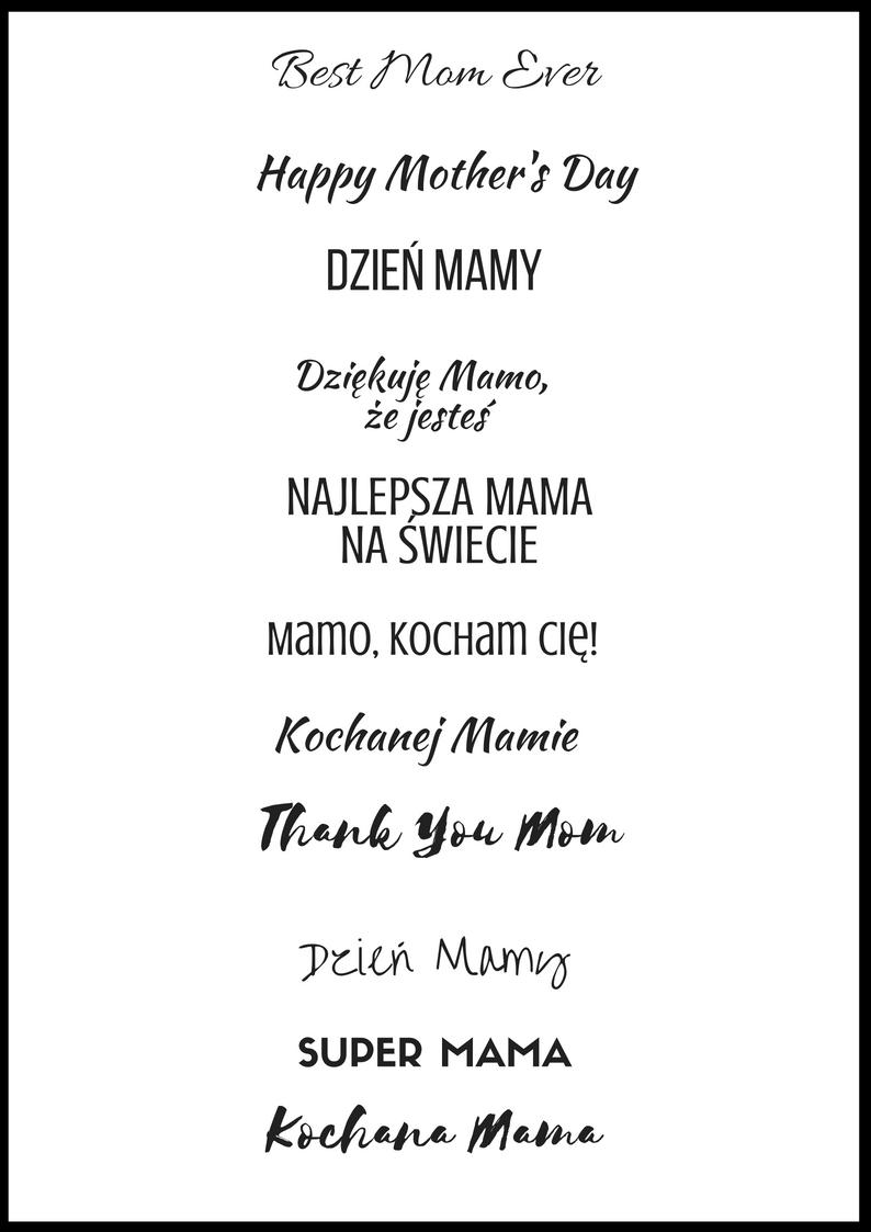 Napisy Dla Mamy