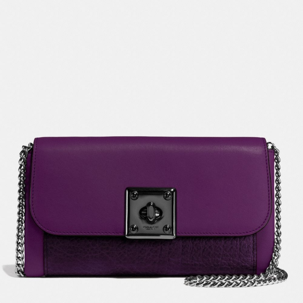 COACH Drifter Wallet in Glovetanned Leather. #coach #bags #shoulder bags #wallet #stone #leather #accessories #