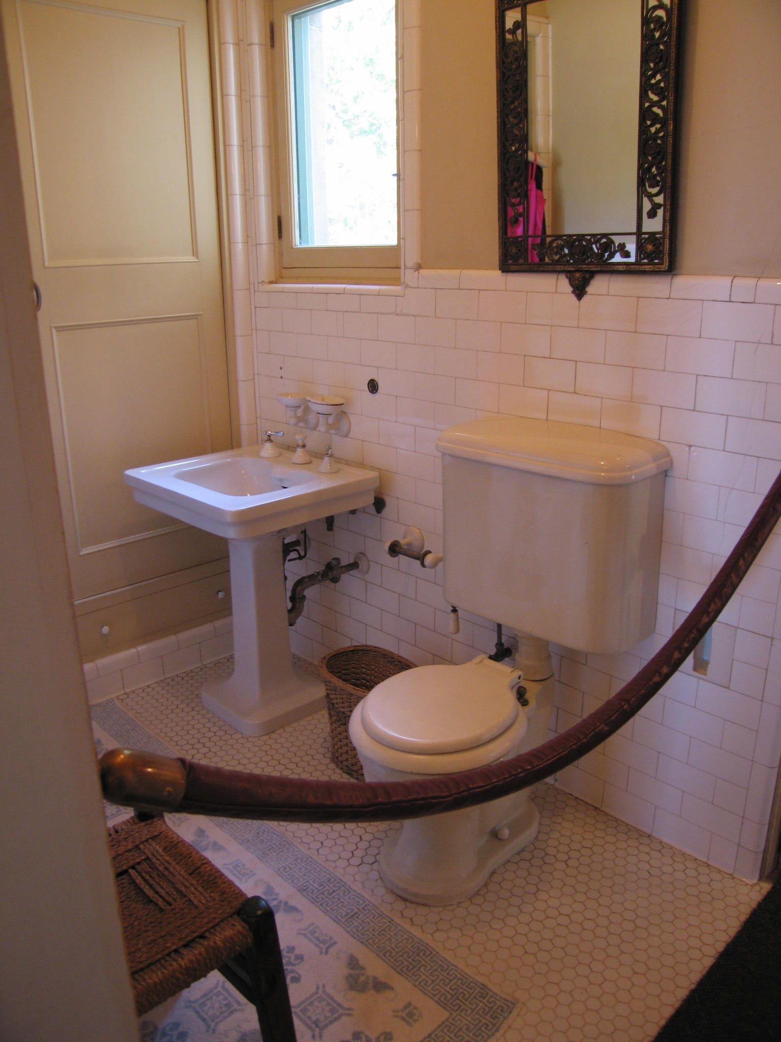 basic bathrooms. Hearst Castle Guest Bathroom - Super Basic Turn Of The Century Design Bathrooms A