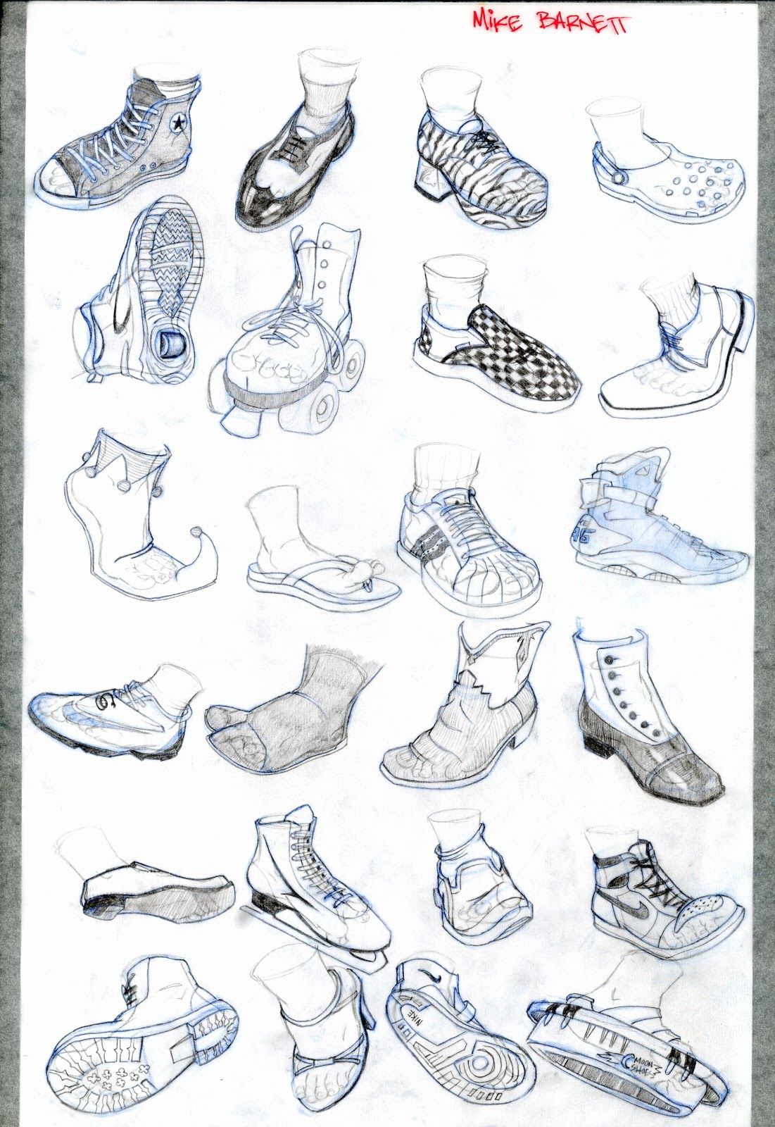 a31fd1c9956 Drawing Shoes Feet Anatomy Foot Reference Shoe Human Skills Pictures ...