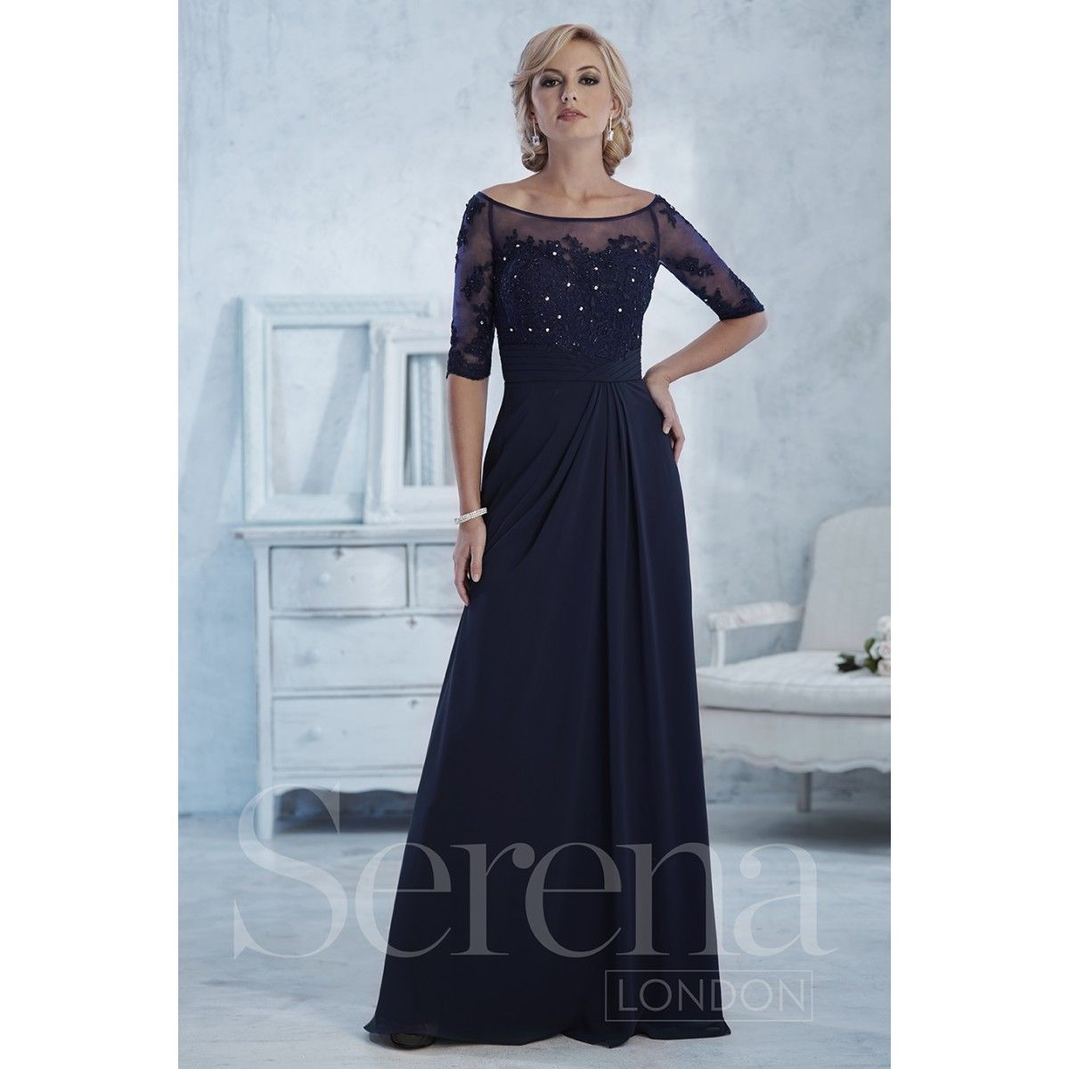 Serena London Style 17767 is a modern chic mother of the bride gown ...