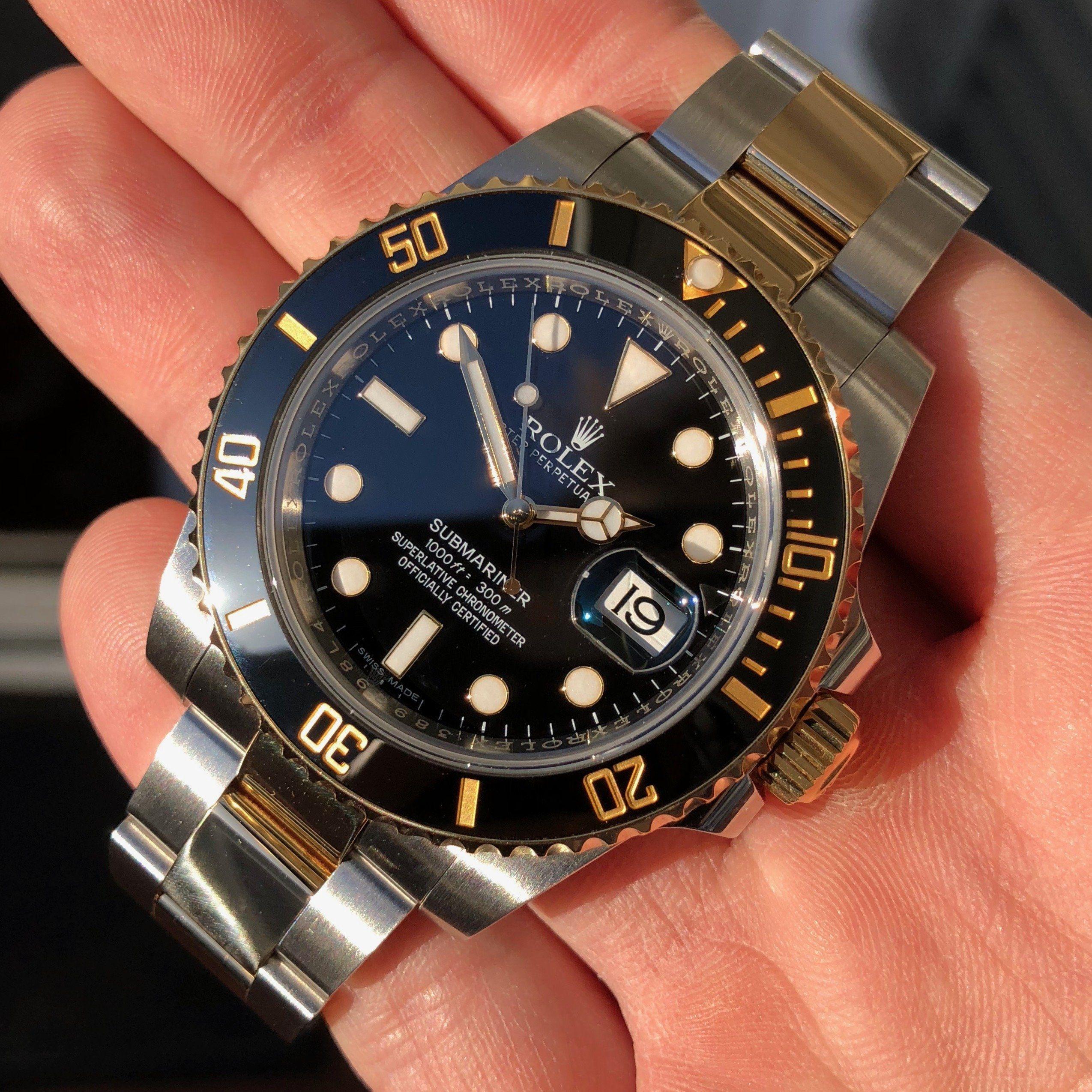 116613ln Rolex Submariner Black Dial With Black Ceramic Bezel Mens Automatic Watch Rolex Submariner For Sale Rolex Submariner Black Rolex Submariner