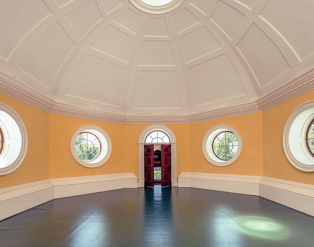 Interiors Thomas Jeffersons Monticello Dome Room Monticello