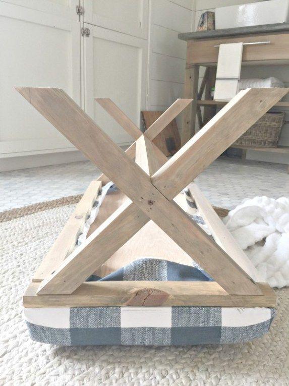 Diy Upholstered X Bench Diy Furniture Woodworking Bench