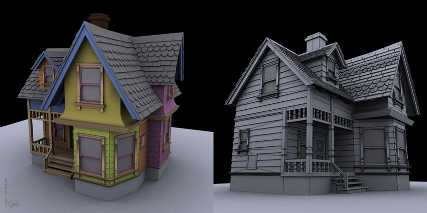 House from Up! / 3Ds Max