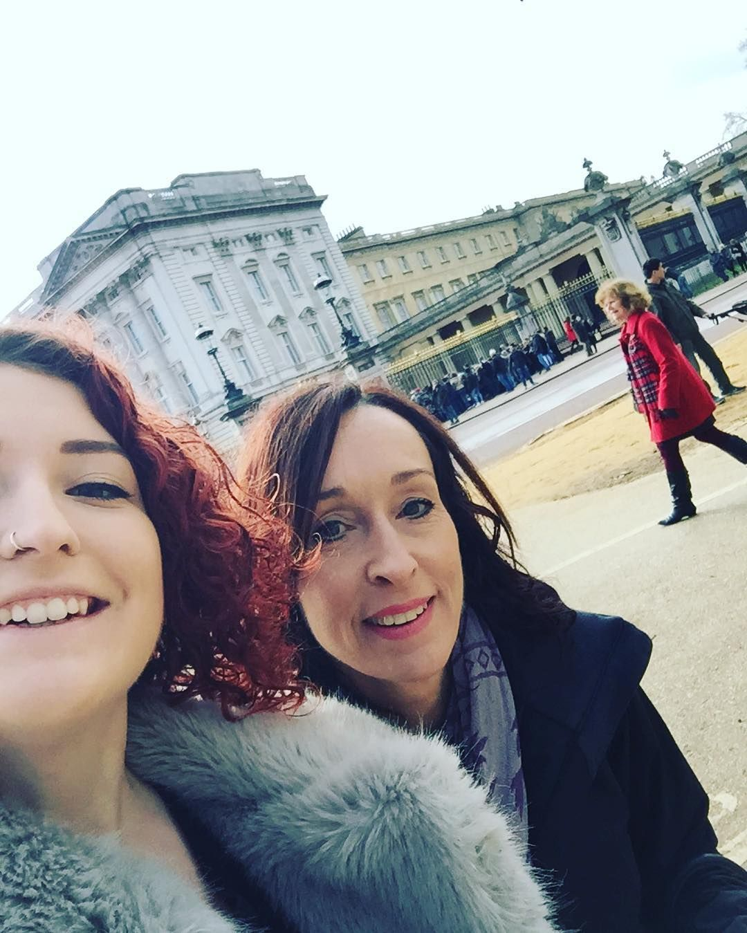 Doing tourist things with Mum on Mother's Day by tegandenchfield