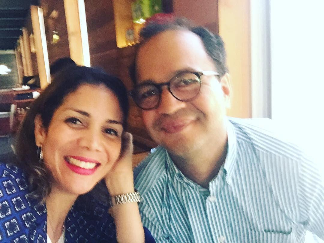 Después del programa salidita con mi esposa @pedropaganmora