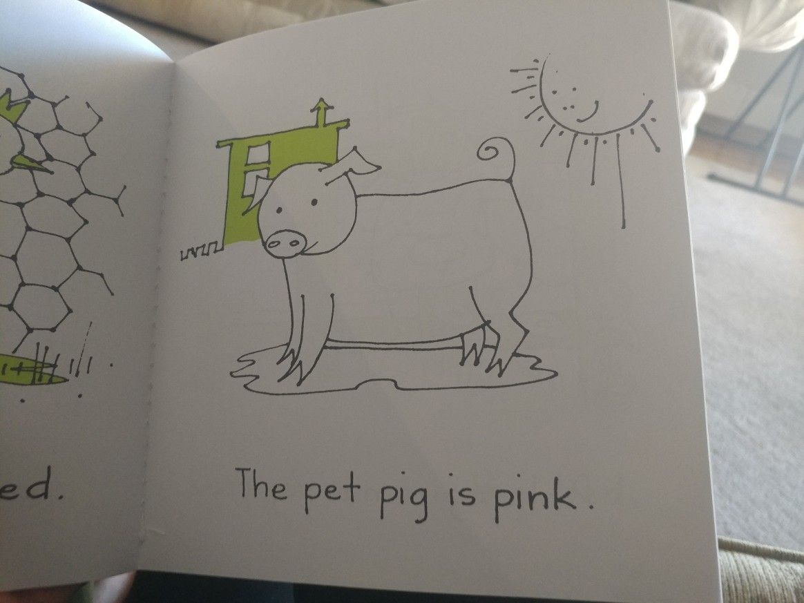 Bob books 110 pink sounds like p ee nk bob books pet