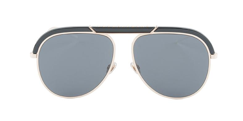 d0ebbed20ce Dior DIORDESERTIC Black Gold   Gray Lens Sunglasses – shadesdaddy
