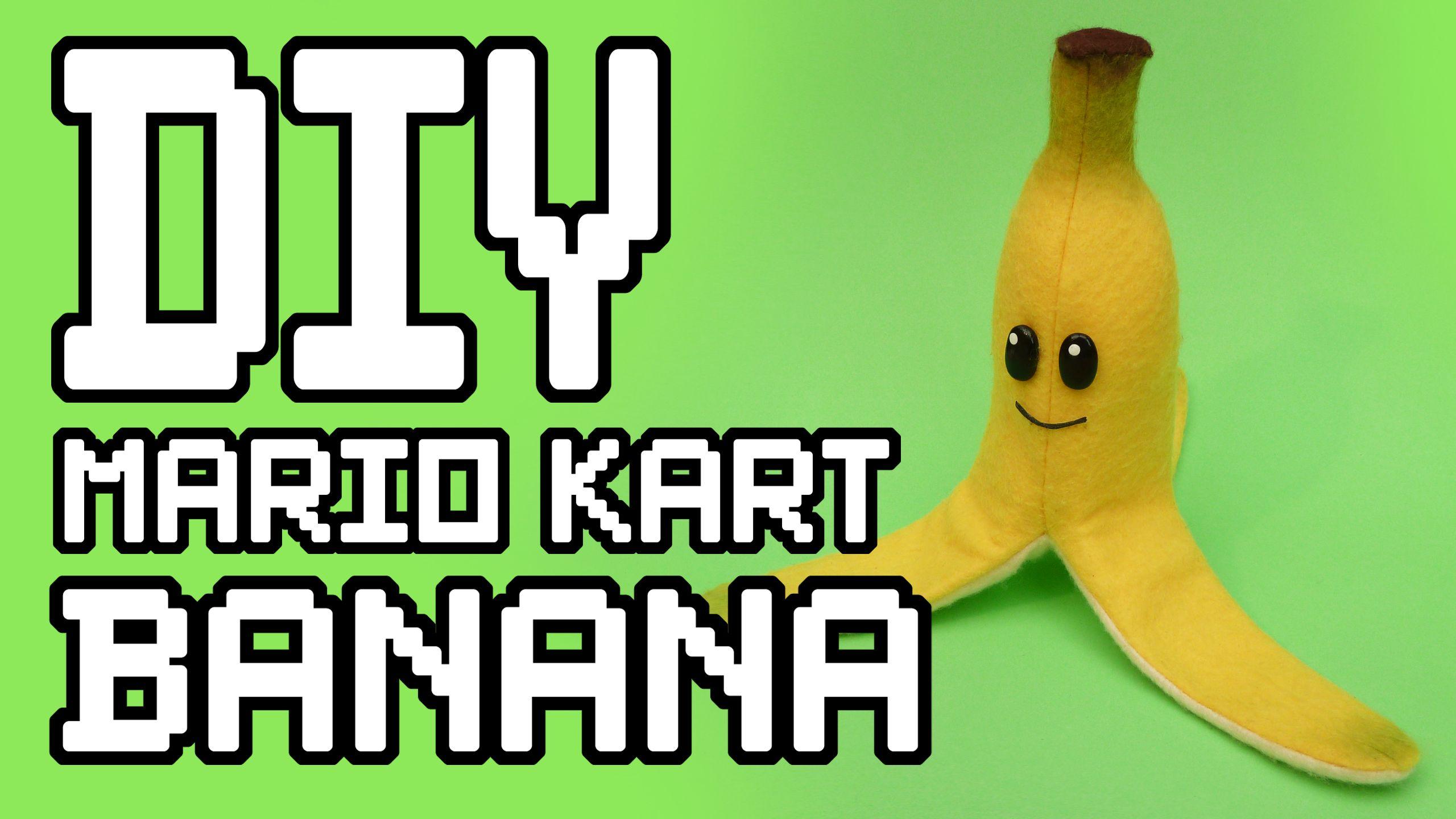 Mario kart banana plush diy this tutorial will teach you how to
