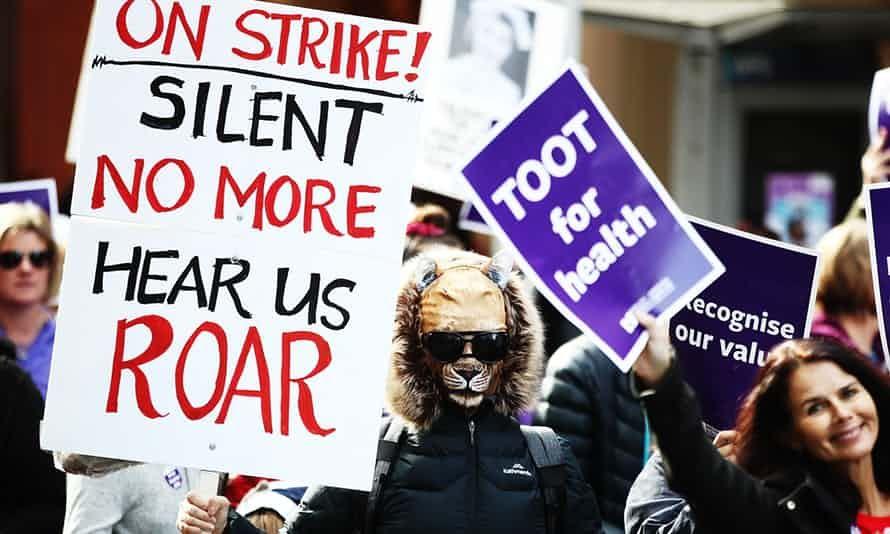 Be Fair To Those Who Care New Zealand Hospitals In Chaos As 30 000 Nurses Strike Nurse Strike Hospital