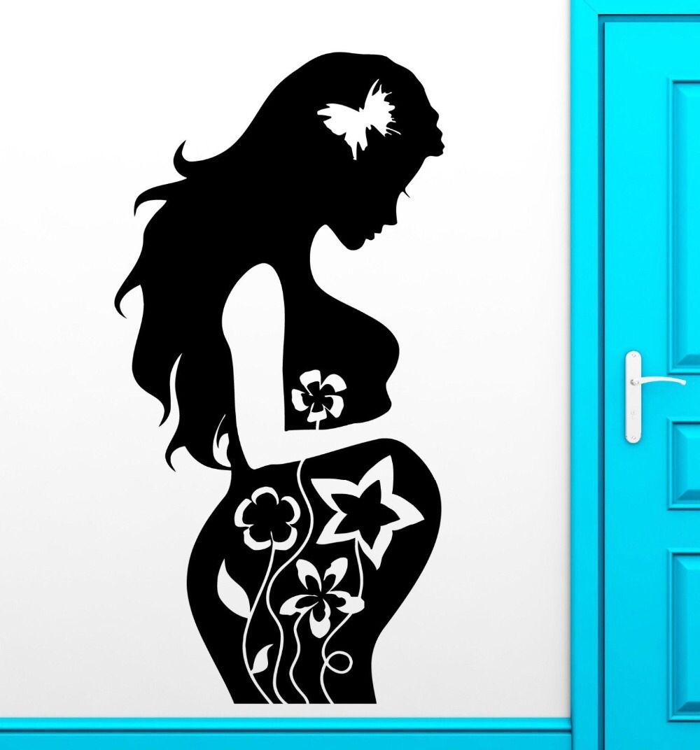 Pregnant mother sticker