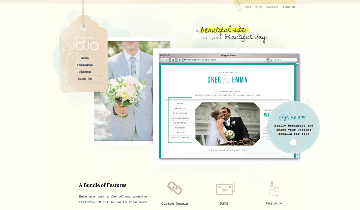 Create Your Wedding Website For Free - WDExplorer | Web Design ...