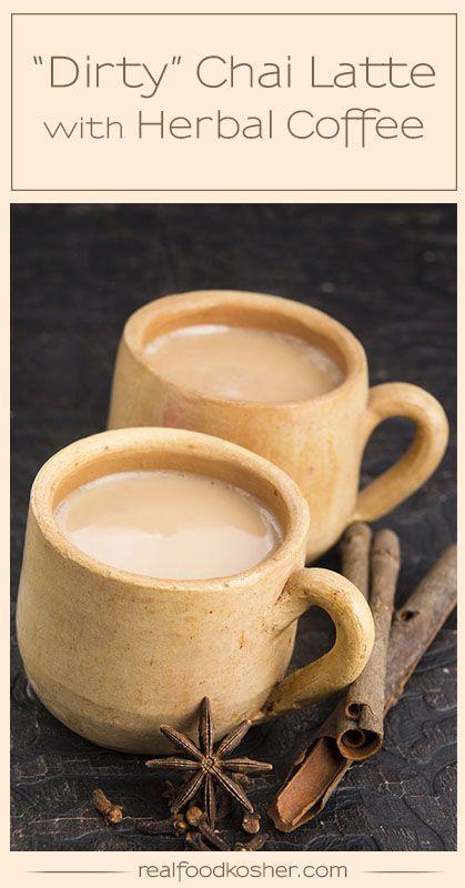 Herbal Coffee Dirty Chai Latte
