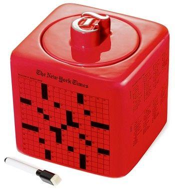 New York Times Red Cookie Jar Cookie Jars Biscuit Jar