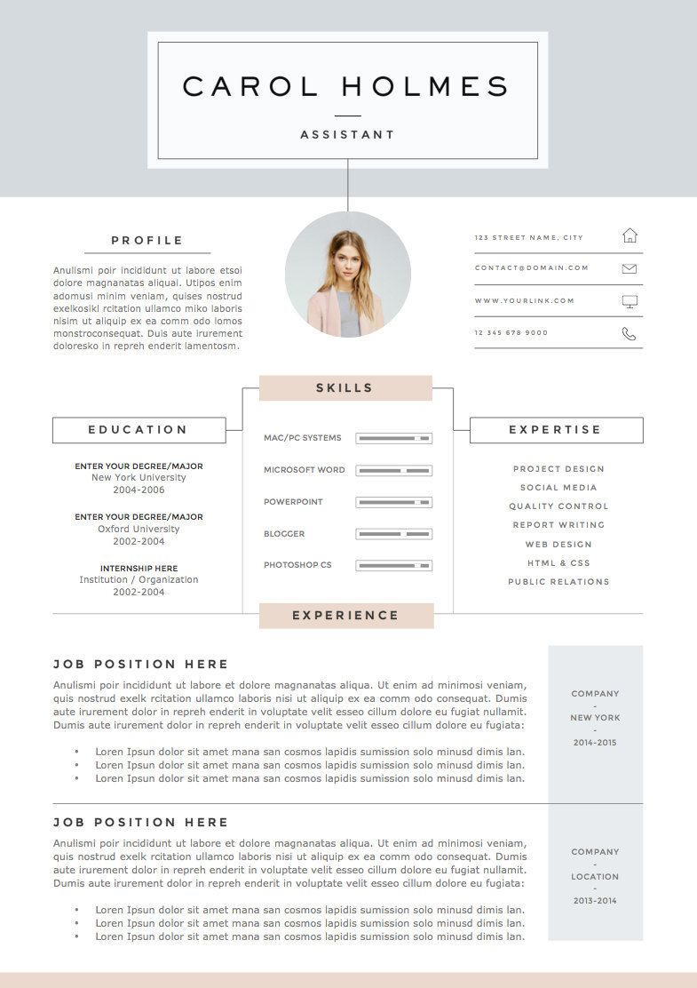 Letter Of Rec Template 5 Page Resume Template And Cover Letter  References Template For .