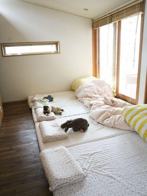 Tokyo min perhonen bebin camas colecho y futones - Habitaciones estilo japones ...