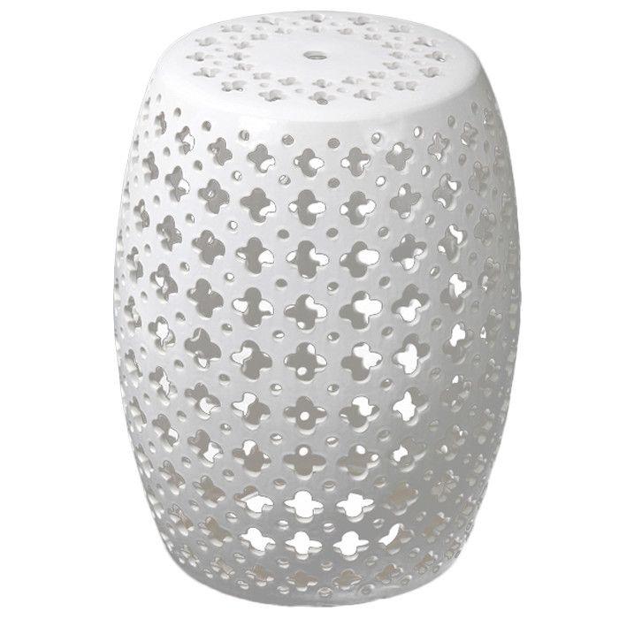 Tremendous Privilege Pierced Garden Stool Wayfair Home Accessories Machost Co Dining Chair Design Ideas Machostcouk