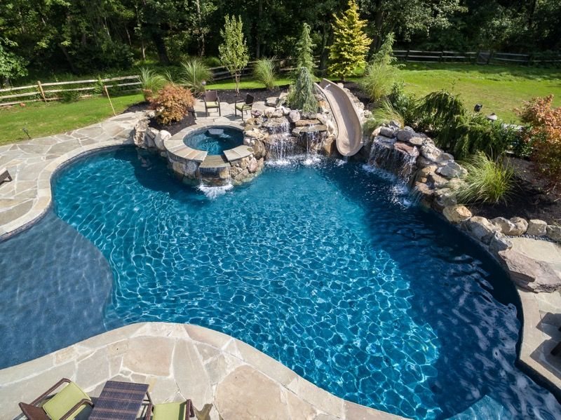 Inground Pools Rumson Nj By Pools By Design New Jersey Custom